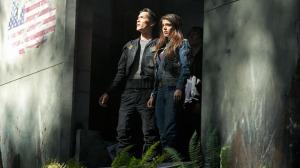 Octavia and Bellamy